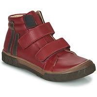 Čevlji  Dečki Visoke superge GBB OZONE Rdeča