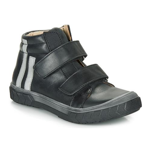 Čevlji  Dečki Visoke superge GBB OZONE Črna