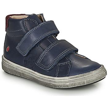 Čevlji  Dečki Visoke superge GBB NAZAIRE Modra