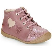 Čevlji  Deklice Visoke superge GBB OCALA Old / Rožnata