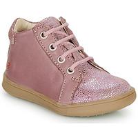 Čevlji  Deklice Visoke superge GBB FAMIA Old / Rožnata