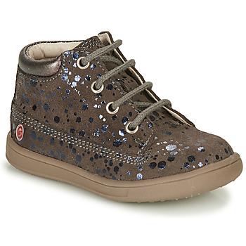 Čevlji  Deklice Visoke superge GBB NINON Taupe