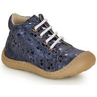 Čevlji  Deklice Visoke superge GBB VEDOFA Modra