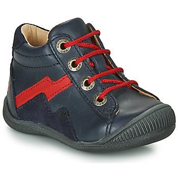 Čevlji  Dečki Visoke superge GBB ORAM Modra