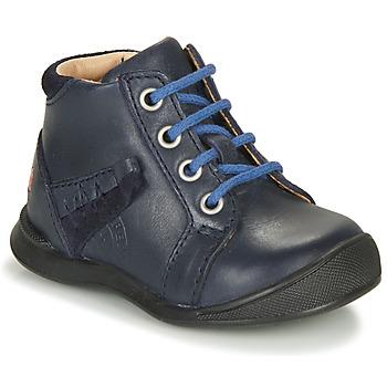 Čevlji  Dečki Visoke superge GBB ORBINO Modra