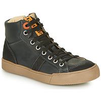 Čevlji  Dečki Visoke superge GBB OSTRAVI Črna
