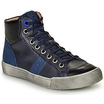 Čevlji  Dečki Visoke superge GBB OSTRAVI Modra