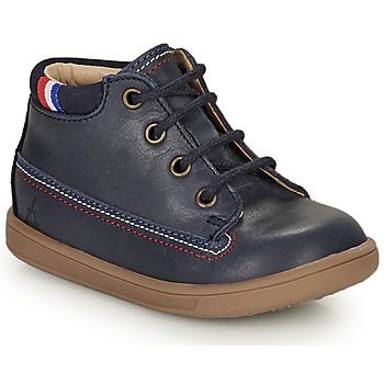 Čevlji  Deklice Polškornji GBB FRANCETTE Modra