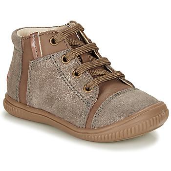 Čevlji  Deklice Visoke superge GBB OUNA Taupe