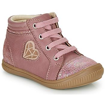 Čevlji  Deklice Visoke superge GBB OTANA Old / Rožnata