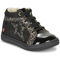Čevlji  Deklice Visoke superge GBB NAVETTE Črna