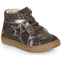 Čevlji  Deklice Visoke superge GBB NAVETTE Taupe