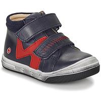 Čevlji  Dečki Visoke superge GBB OGROU Modra / Rdeča