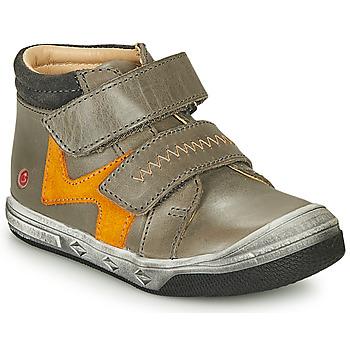 Čevlji  Dečki Visoke superge GBB OGROU Siva