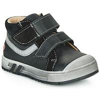 Čevlji  Dečki Visoke superge GBB OMALLO Črna