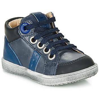 Čevlji  Dečki Visoke superge GBB ANGELITO Modra