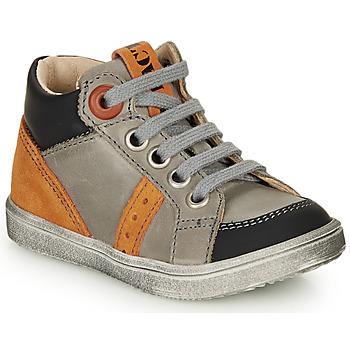 Čevlji  Dečki Visoke superge GBB ANGELITO Siva / Oranžna