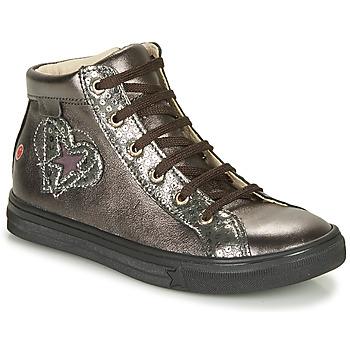 Čevlji  Deklice Visoke superge GBB MARTA Siva