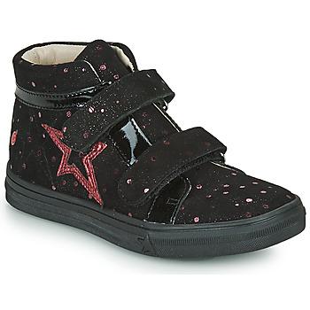 Čevlji  Deklice Visoke superge GBB OHANE Črna