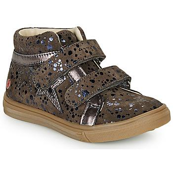 Čevlji  Deklice Visoke superge GBB OHANE Taupe
