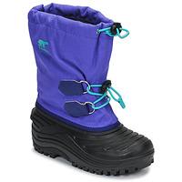 Čevlji  Otroci Škornji za sneg Sorel YOUTH SUPER TROOPER Modra