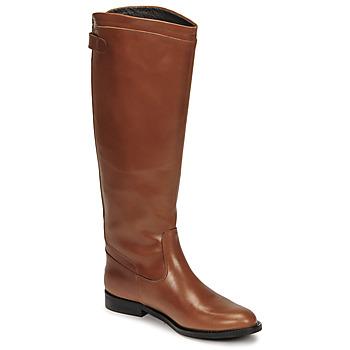 Čevlji  Ženske Mestni škornji    Jonak BATURINGI Cognac