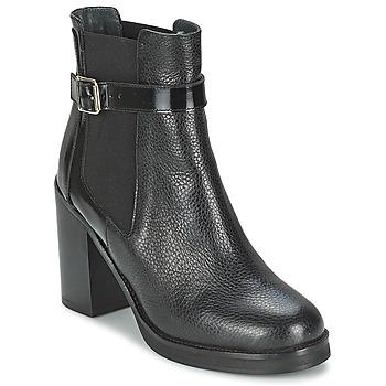 Čevlji  Ženske Gležnjarji Jonak DELFIM Črna