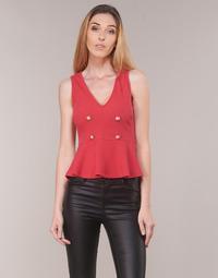 Oblačila Ženske Topi & Bluze Moony Mood KITTILE Rdeča