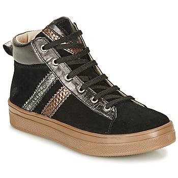 Čevlji  Deklice Visoke superge GBB KIBEL Črna
