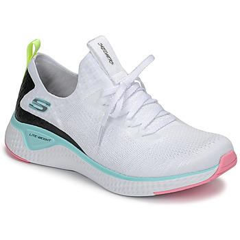 Čevlji  Ženske Fitnes / Trening Skechers FLEX APPEAL 3.0 Bela / Rožnata / Modra