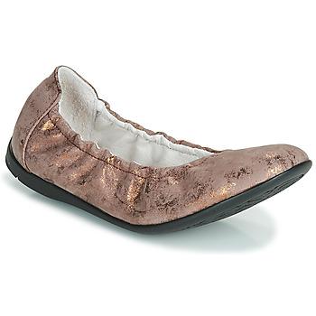 Čevlji  Deklice Balerinke Ramdam LIBRE Bronze