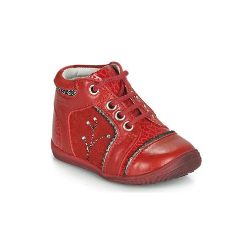 Čevlji  Deklice Polškornji Catimini CALINE Rdeča
