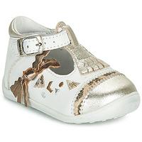 Čevlji  Deklice Balerinke Catimini CANETTE Bela