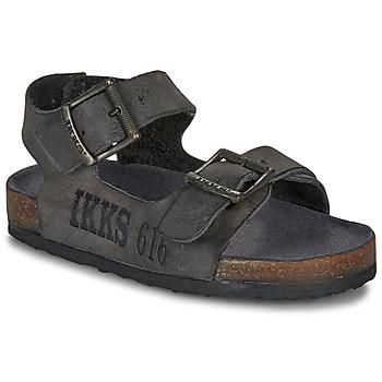 Čevlji  Dečki Sandali & Odprti čevlji Ikks CURTIS Črna