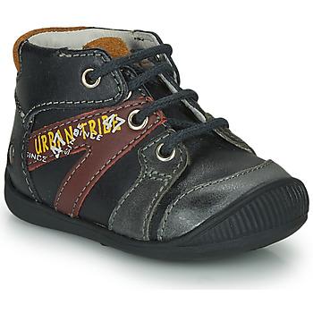 Čevlji  Dečki Polškornji GBB LEWIN Črna