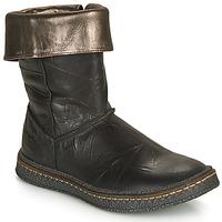 Čevlji  Deklice Mestni škornji    Ramdam CRACOVIE Črna