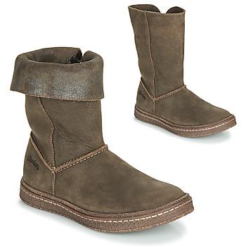 Čevlji  Deklice Mestni škornji    Ramdam CRACOVIE Kaki