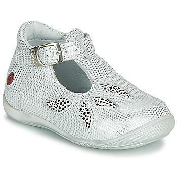 Čevlji  Deklice Sandali & Odprti čevlji GBB MARIE Bela / Srebrna