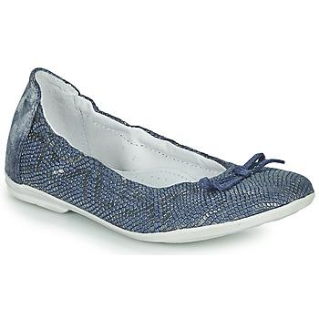 Čevlji  Deklice Balerinke Ramdam KIKI Modra