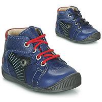 Čevlji  Dečki Polškornji GBB NATALE Modra / Rdeča