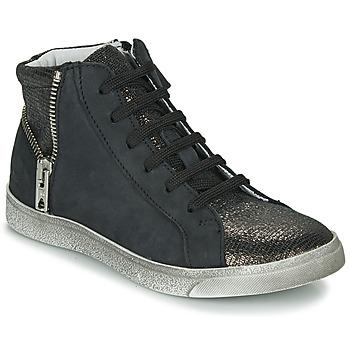 Čevlji  Deklice Visoke superge Achile CARLA Črna