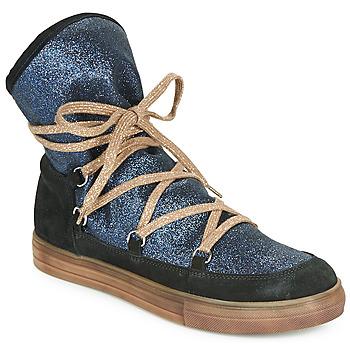 Čevlji  Deklice Mestni škornji    Achile ANGELA Modra