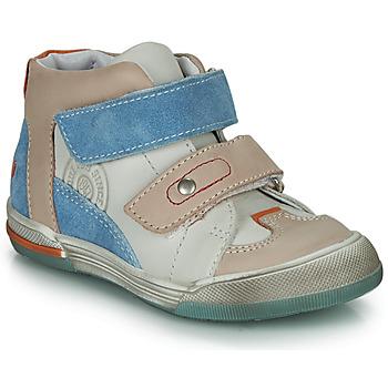 Čevlji  Dečki Visoke superge GBB PATRICK Siva / Modra