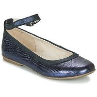 Čevlji  Deklice Balerinke Achile DANIELA Modra