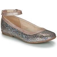 Čevlji  Deklice Balerinke Achile DANIELA Rožnata