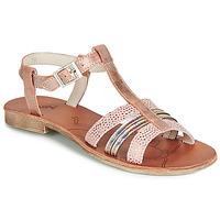 Čevlji  Deklice Sandali & Odprti čevlji Achile KIMITSU Rožnata