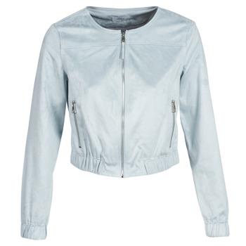 Oblačila Ženske Usnjene jakne & Sintetične jakne Only ONLLEONA Modra