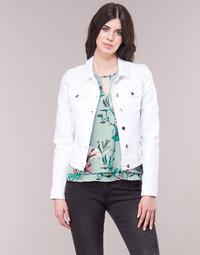 Oblačila Ženske Jeans jakne Only ONLTIA Bela