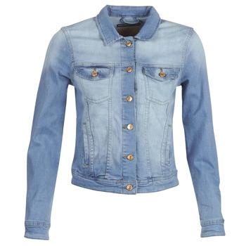 Oblačila Ženske Jeans jakne Only ONLTIA Modra / Svetla