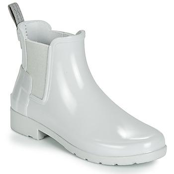 Čevlji  Ženske škornji za dež  Hunter ORIGINAL KIDS Siva